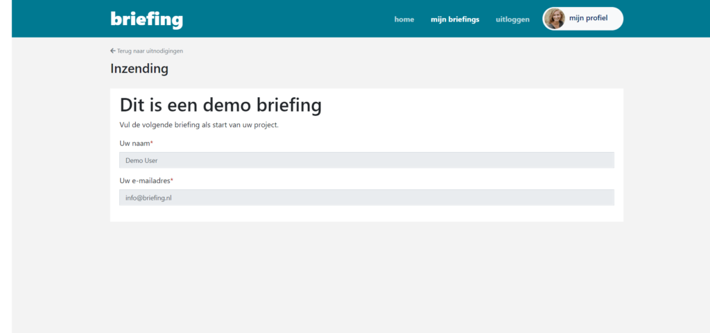 Realtime insight into compled briefings